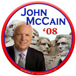 McCain button